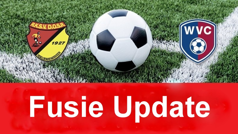 Fusie Update 11 - Nieuwe hoofdtrainer, kledingplan en contributie
