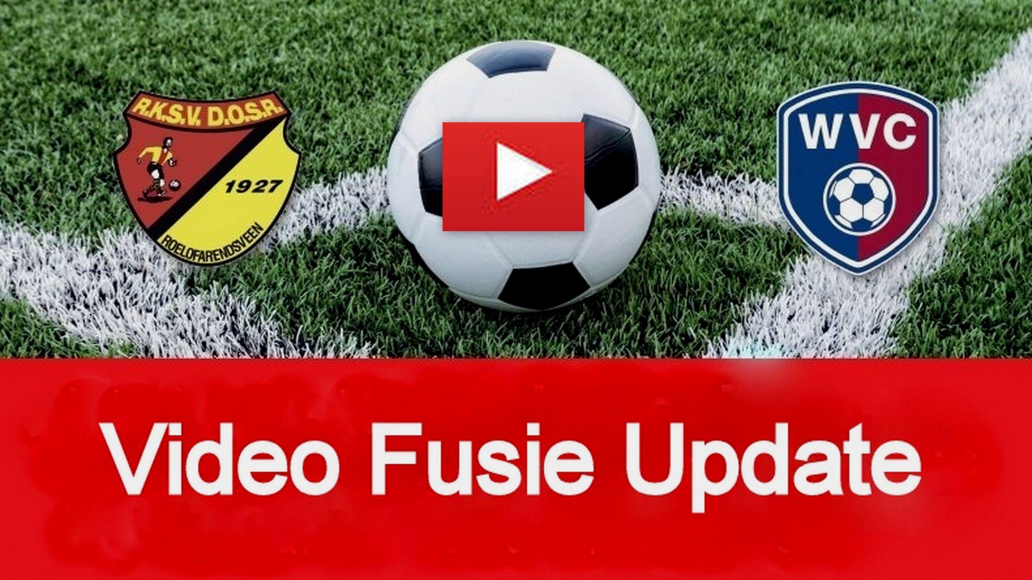 Video over de Fusie voortgang