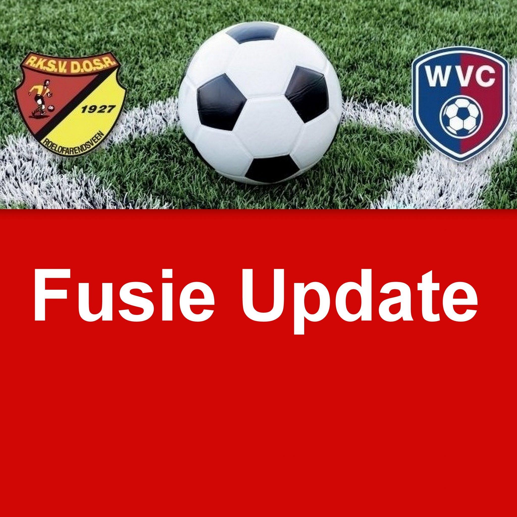 Fusie update 8 - juni 2020, Naam jeugd voor 1 seizoen, kleding, accommodatie, vrijwilligers en meer...