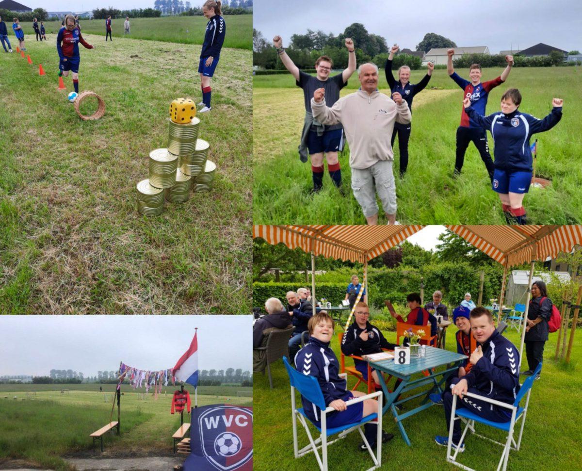 G-voetbal training bij Zorgtuin de Tas