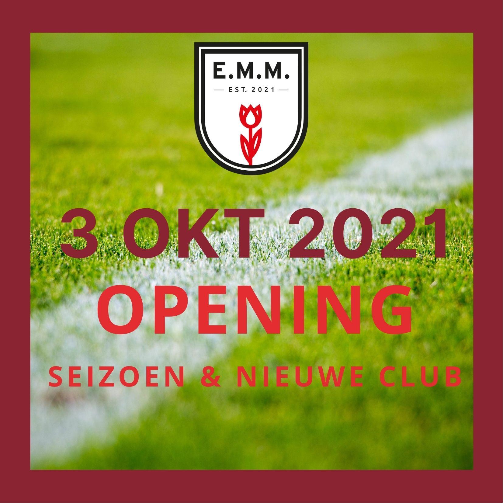Officiele opening seizoen en nieuwe club
